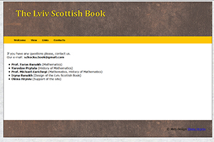 The Lviv Scottish Book