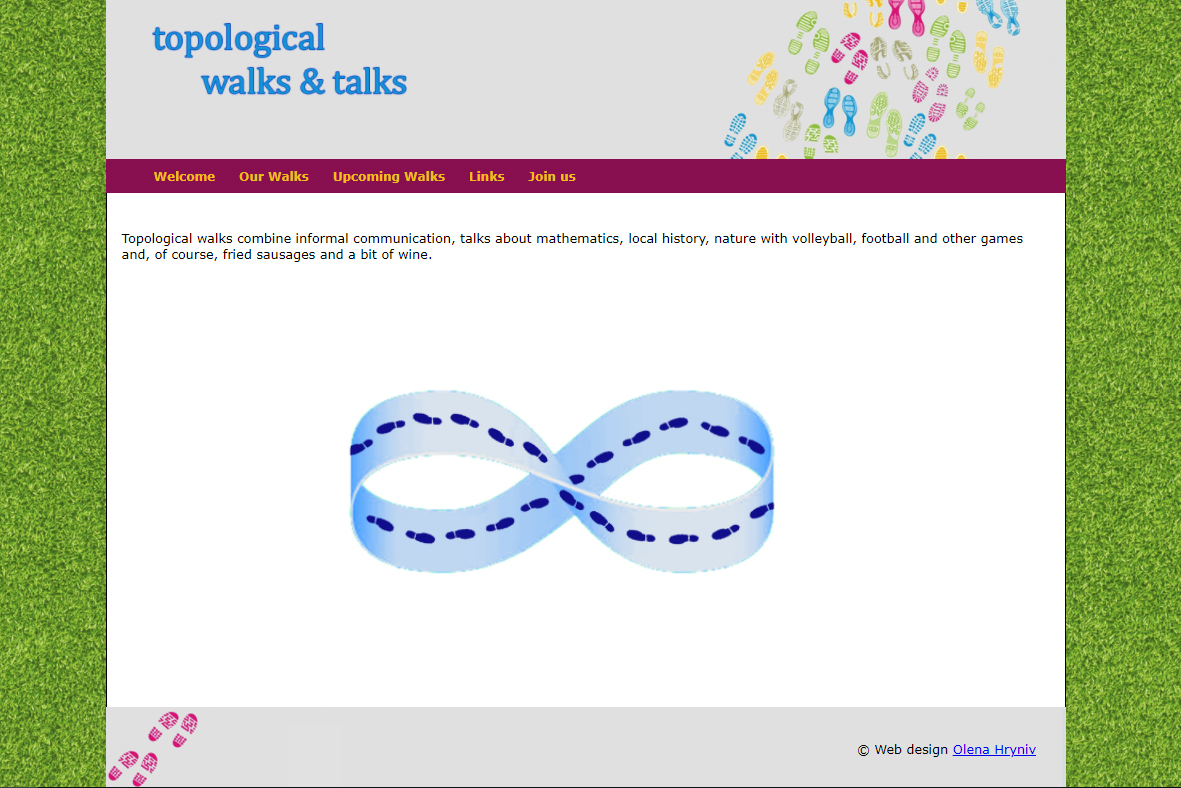 topological walks and talks
